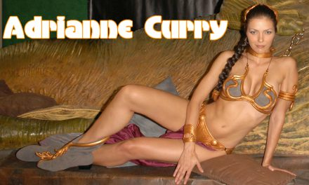 Top Model Adrianne Curry Cosplay